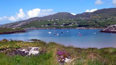 Derrynane harbour kerry
