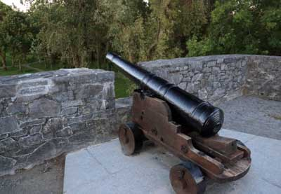 Canons at Ross Castle killarney