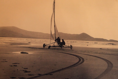 Sand Yachting in Waterville
