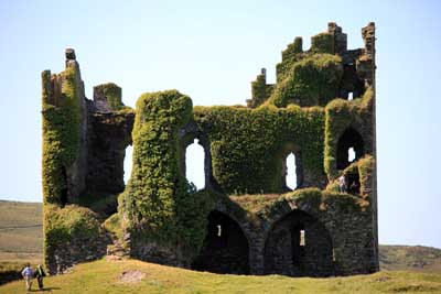 Haunted Irish castle