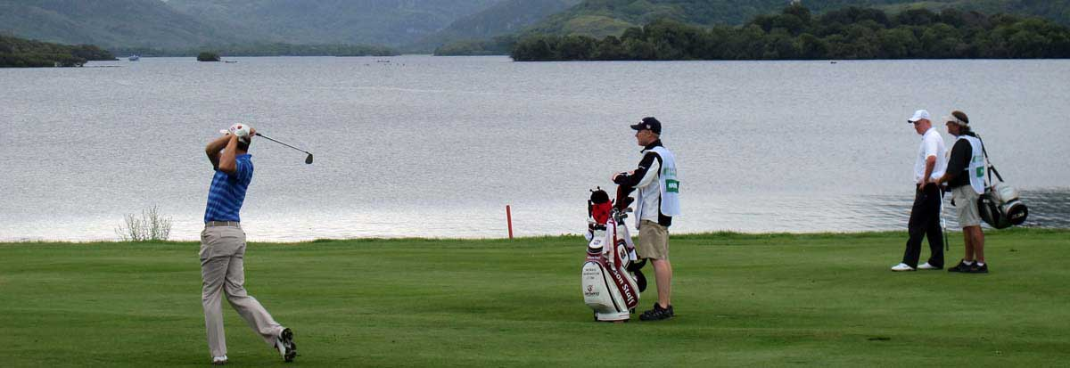 Irish open Golf at killarney Golf and Fishing Club 2011