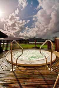 Outdoor Hot Tub in Killarney