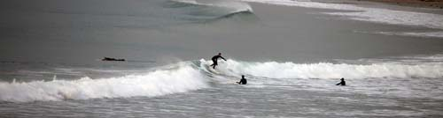Surfing Winter Waves in Kerry