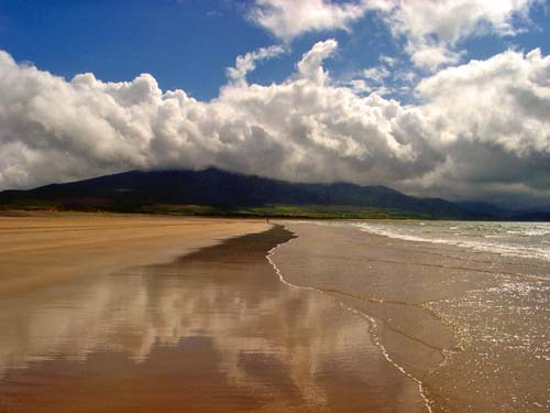Blueflag beach in kerry