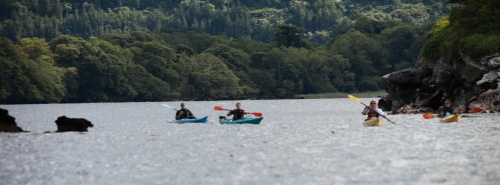 Kayaking in Killarney