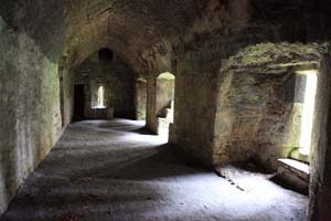 Inside Muckross Abbey