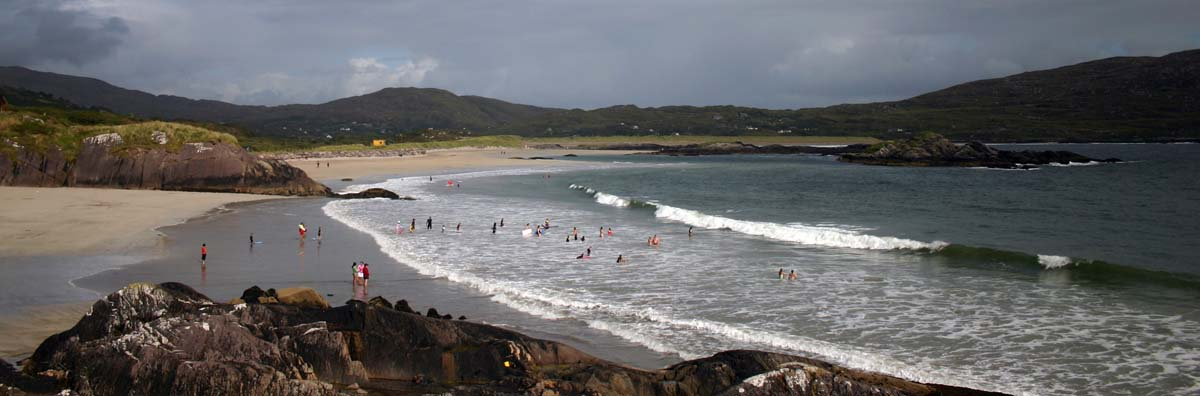 Blue flag beaches in ireland
