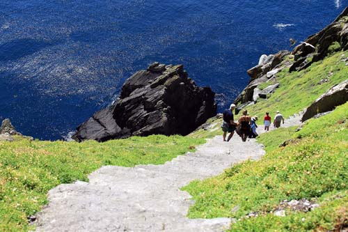 Steps on Skelligs