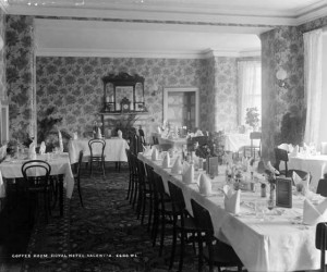 Royal Hotel Valentia Dining room