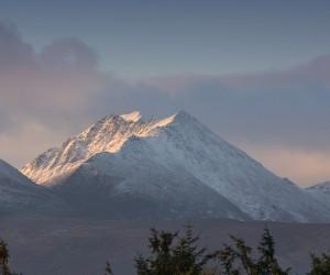 Killarney Mountains in Snow