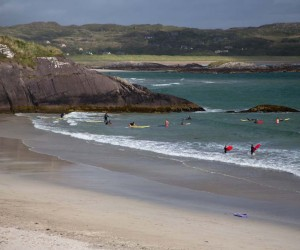 Kids Bodyboarding in Kerry