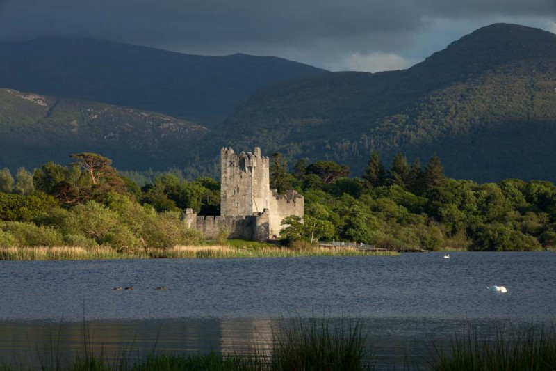Irish Castle in Killarney