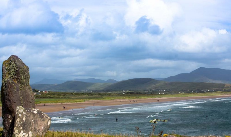 Surfing Beach in Kerry