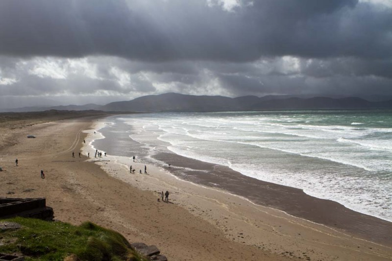 Inch Beach from Killarney
