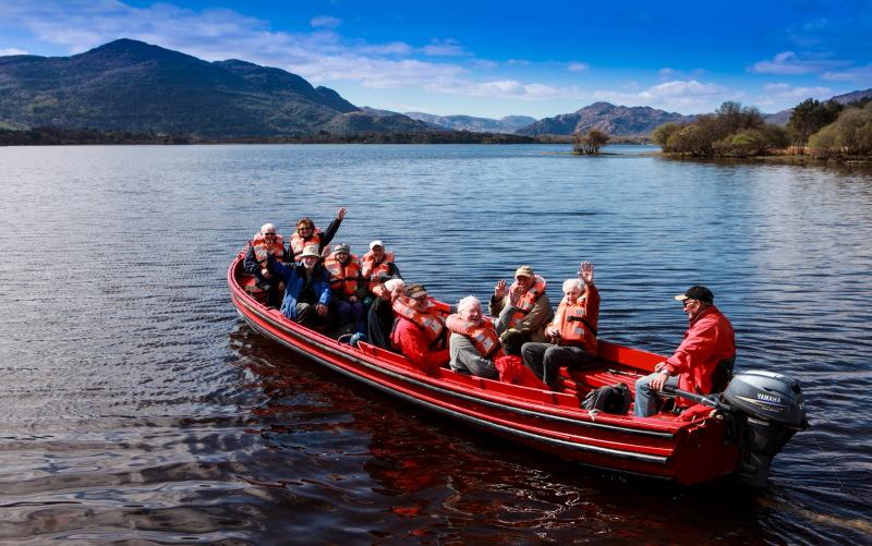 Boating in Killarney