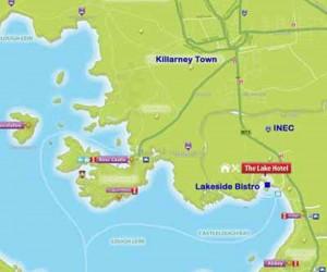 Lakeside restaurant Killarney