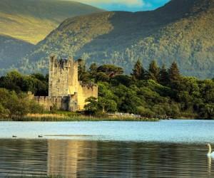 Ross Castle in Killarney County Kerry
