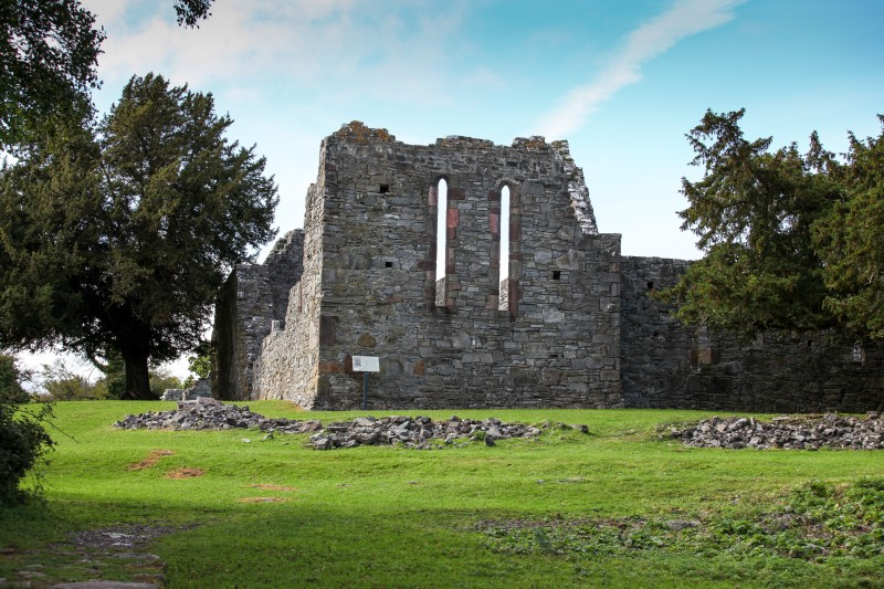 Innisfallen Abbey on Innisfallen Island Killarney