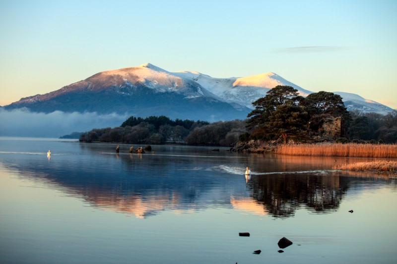 Winter Images of Killarney County Kerry Ireland