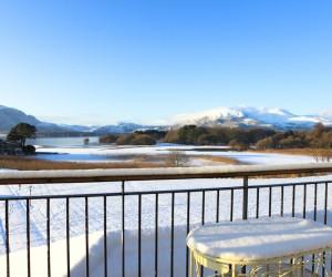 Snow in Killarney National Park