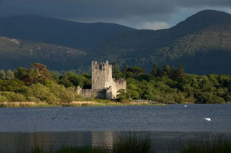 Irish Castle in Killarney