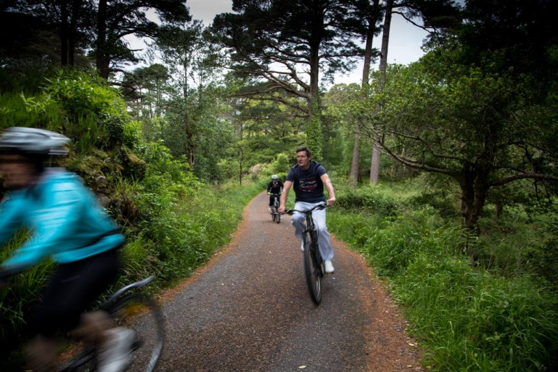 Cycling in the Killarney National park