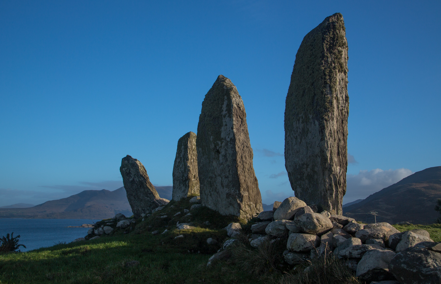 Standing Stone Row Waterville on the Ring of Kerry