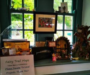 Fairy trail Maps at Derrynane