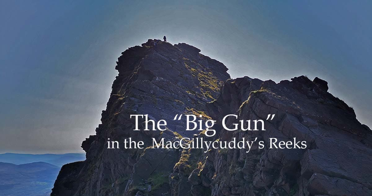 "The ""Big Gun"" Mountain in Kerry"
