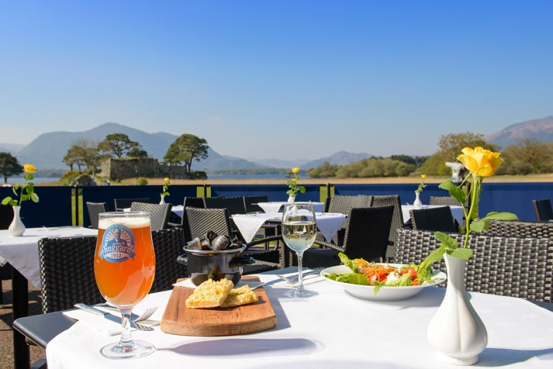 Lakeside Dining in Killarney