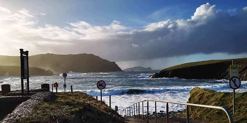 Clogher Strand Dingle peninsula