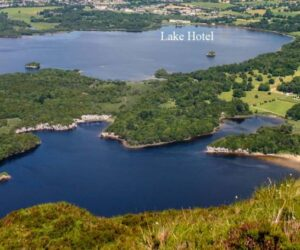 Muckross Abbey and the Lake Hotel