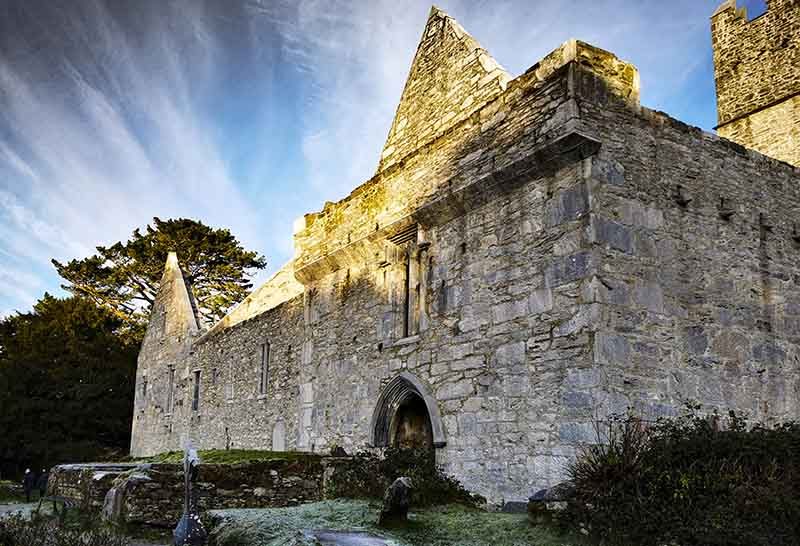 Muckross Abbey in Killarney